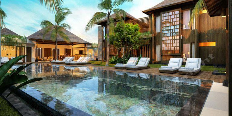 Bali Villa 3D