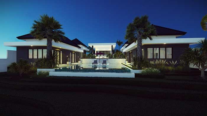 Service de modelisation 3D photos Architecture Bali