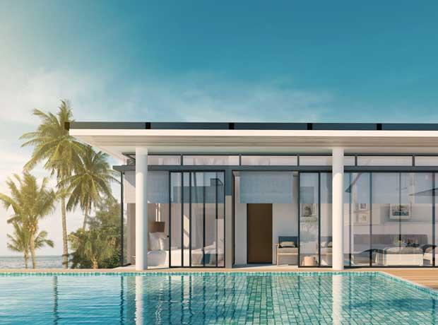 Design minimaliste - Bali Constructeur