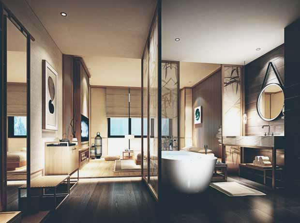 Construction d'appartements à Bali