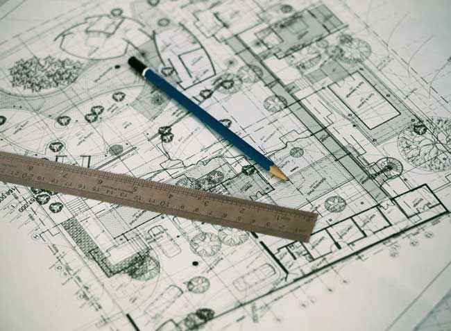 Service de plan d'architecte