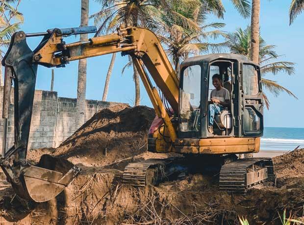 Bali Construction Villa Bord de mer